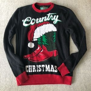 Urban Outfitters Country Christmas Sweater